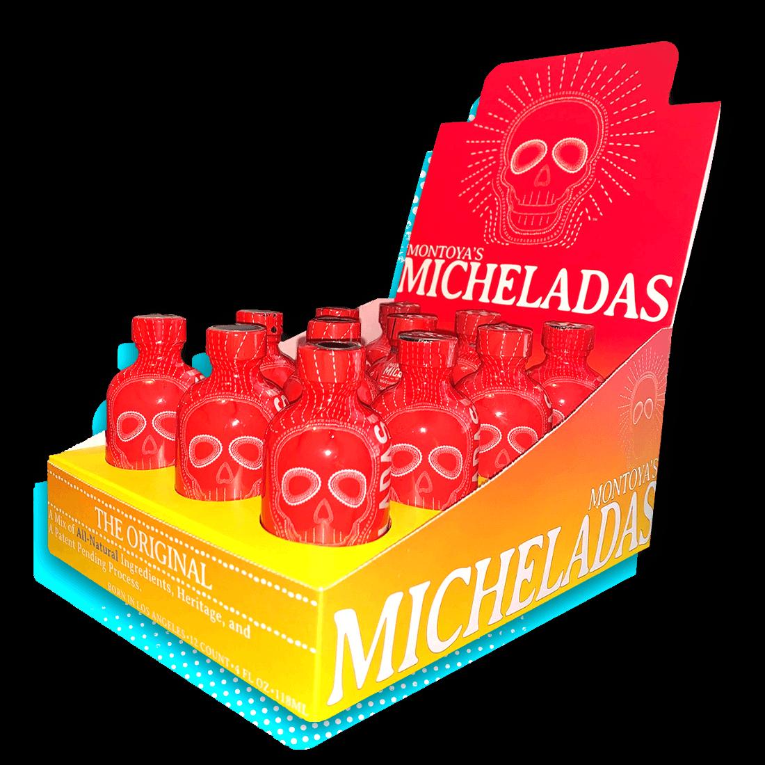 12 Pack of Montoya's Micheladas